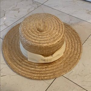 Vintage Straw hat made in Italy great condition